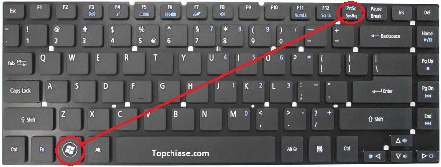 Cách chụp màn hình máy tính