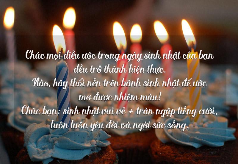 lời chúc sinh nhật
