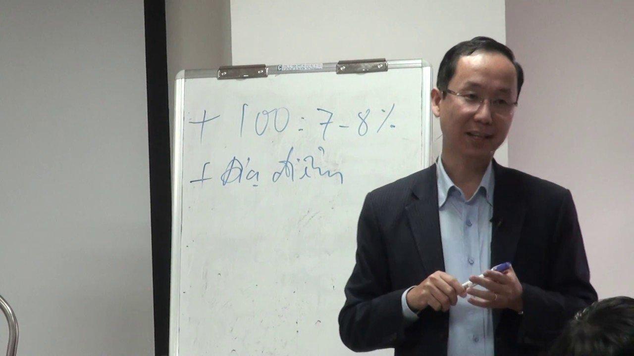 Francis Hung luon chon đúng đối tượng dung noi dung de trinh bay