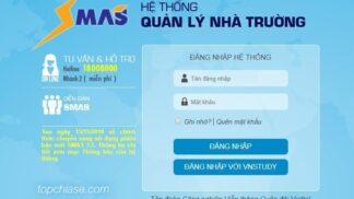chương trình quản lý nhà trường SMAS